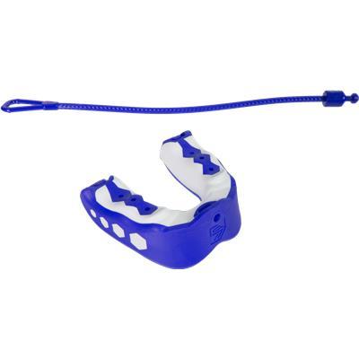 Blue Raspberry (Shock Doctor Gel Max Flavor Fusion Convertible Mouth Guard - Senior)