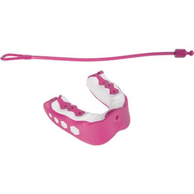 Bubblegum (Shock Doctor Gel Max Flavor Fusion Convertible Mouth Guard - Junior)