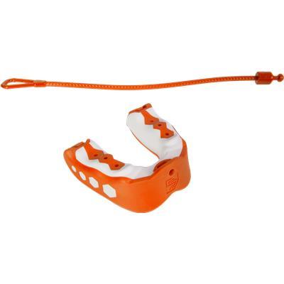 Orange (Shock Doctor Gel Max Flavor Fusion Convertible Mouth Guard - Senior)