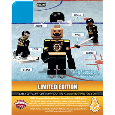 Back (OYO Sports Boston Bruins NHL Mini Figures - Home Jersey)