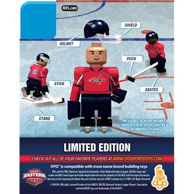 Back (OYO Sports Washington Capitals NHL Mini Figures - Home Jersey)