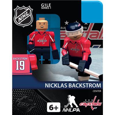 Nicklas Backstrom (OYO Sports Washington Capitals NHL Mini Figures - Home Jersey)