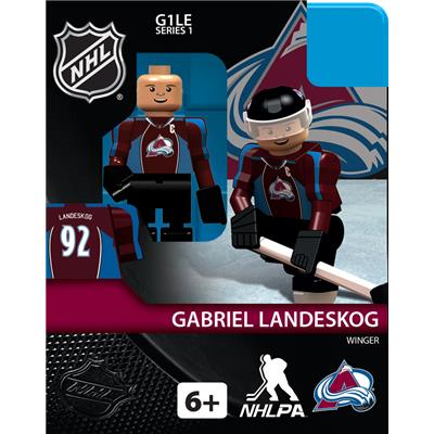 Gabriel Landeskog (OYO Sports Colorado Avalanche NHL Mini Figures - Home Jersey)