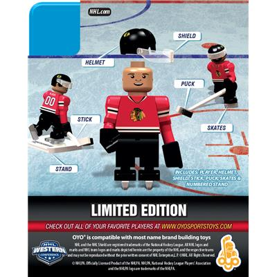 Back (OYO Sports Chicago Blackhawks NHL Mini Figures - Home Jersey)