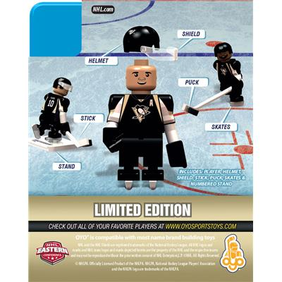 Back (OYO Sports Pittsburgh Penguins NHL Mini Figures - Home Jersey)
