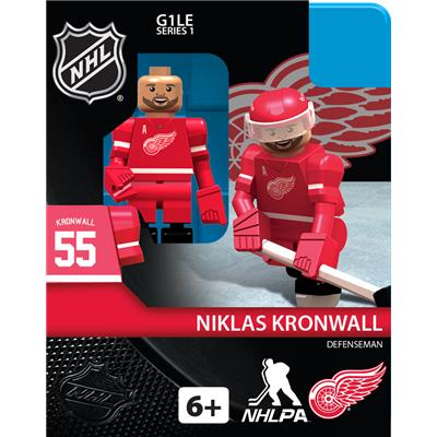 Niklas Kronwall (OYO Sports Detroit Red Wings NHL Mini Figures - Home Jersey)