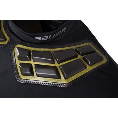 Shoulder Padding Detail (Bauer Elite Padded Shirt)