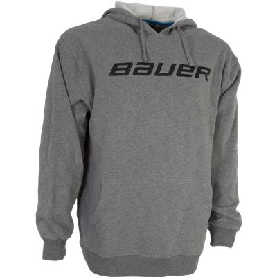 Heather Grey (Bauer Core Pullover Hoodie - Mens)