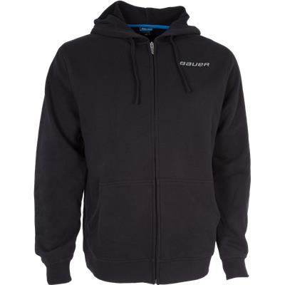 Black (Bauer Core Full-Zip Hoody - Mens)