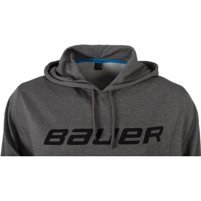 Front Detail (Bauer Core Training Pullover Hoodie)