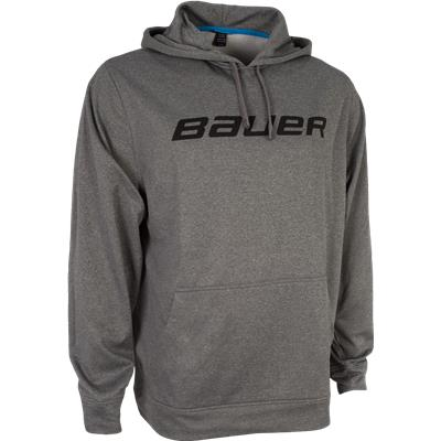 Heather Grey (Bauer Core Training Pullover Hoodie)