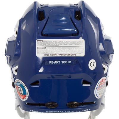 Back (Bauer RE-AKT 100 Hockey Helmet)