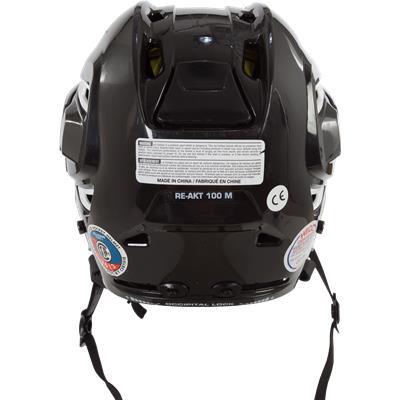 Back (Bauer Re-AKT 100 Helmet Combo)