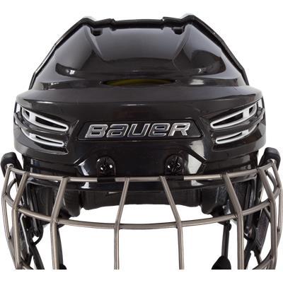 Front Detail (Bauer Re-AKT 100 Helmet Combo)