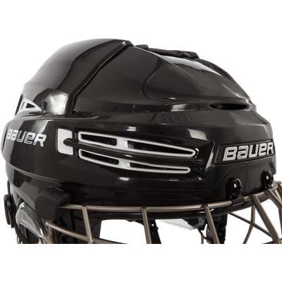 Front Perspective (Bauer Re-AKT 100 Helmet Combo)