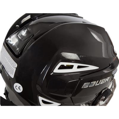 Back Perspective (Bauer Re-AKT 100 Helmet Combo)