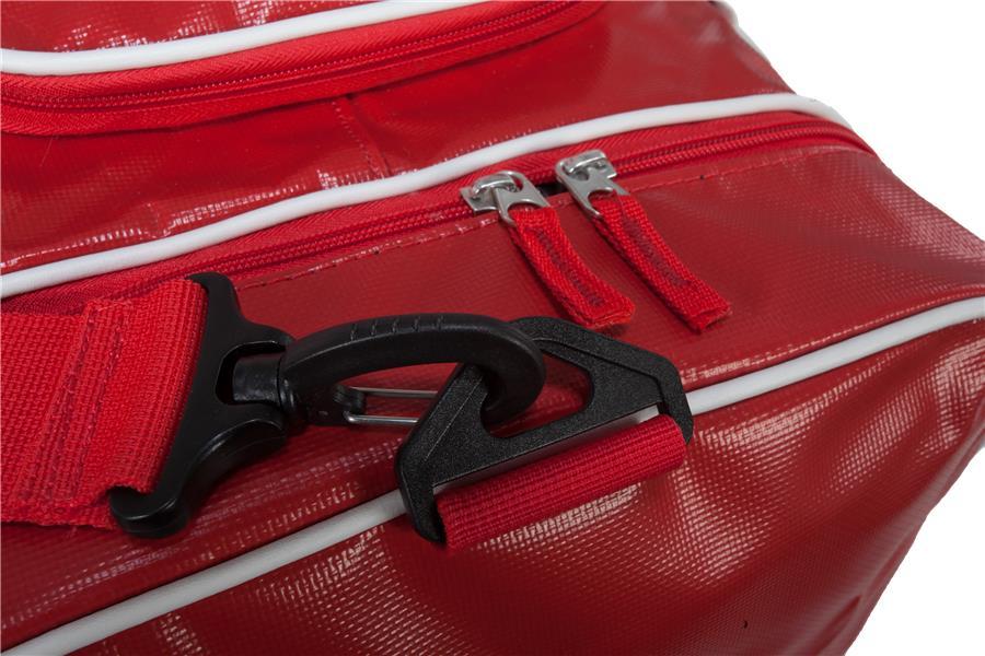 b54dd00957 Two Zippers For Easy Closure (Bauer Team Premium Duffel Bag)