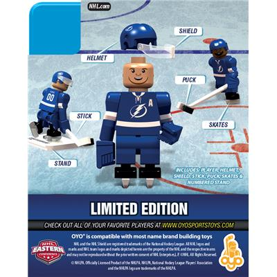 Back (OYO Sports Tampa Bay Lightning NHL Mini Figures - Home Jersey)