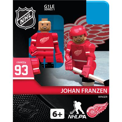 Johan Franzen (OYO Sports Detroit Red Wings NHL Mini Figures - Home Jersey)