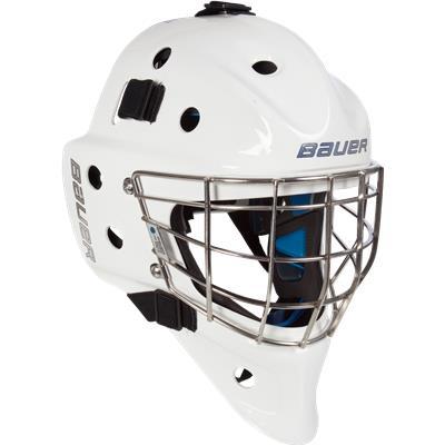 NME 8 Goalie Mask (Bauer NME 8 Certified Straight Bar Goalie Mask - Senior)