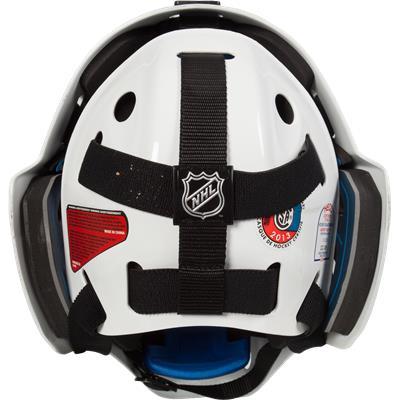 Back (Bauer NME 8 Certified Straight Bar Goalie Mask - Senior)