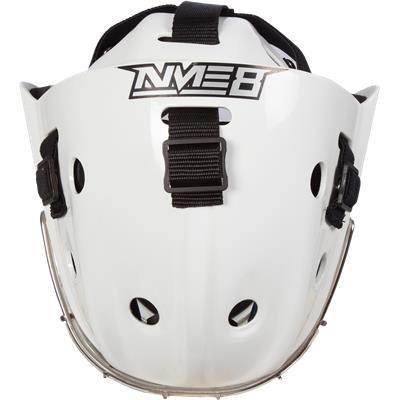 Top (Bauer NME 8 Certified Straight Bar Goalie Mask - Senior)