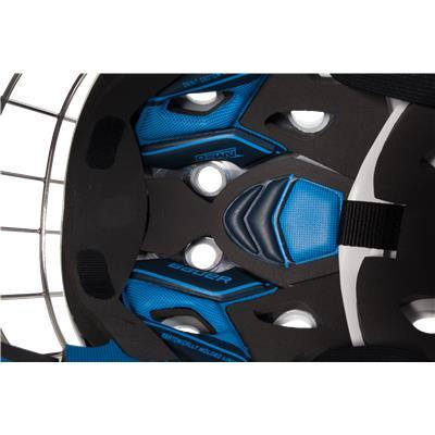 (Bauer NME 8 Certified Straight Bar Goalie Mask - Senior)