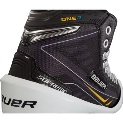 Heel Detail (Bauer Supreme ONE.7 Goalie Skates)