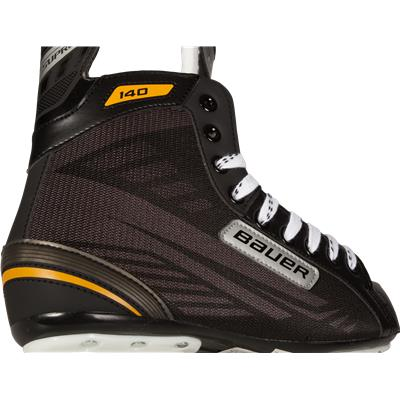 Boot Perspective (Bauer Supreme 140 Ice Skates)