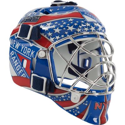 New York Rangers (Franklin NHL Team Mini Goalie Mask)