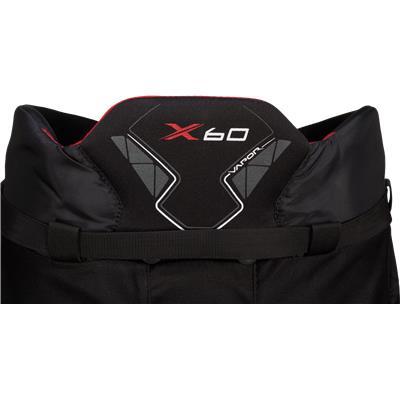 Back Detail (Bauer Vapor X60 Hockey Pants - Junior)
