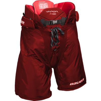 Red (Bauer Vapor X100 Hockey Pants)