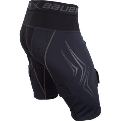 Side (Bauer Premium Lockjock Hockey Shorts - Senior)