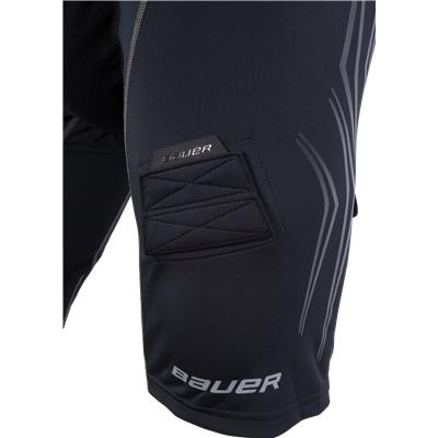 Leg Detail (Bauer Premium Lockjock Hockey Shorts - Senior)