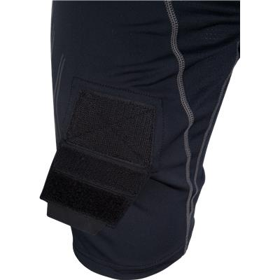Hook and Loop Detail (Bauer Premium Lockjock Hockey Shorts - Senior)