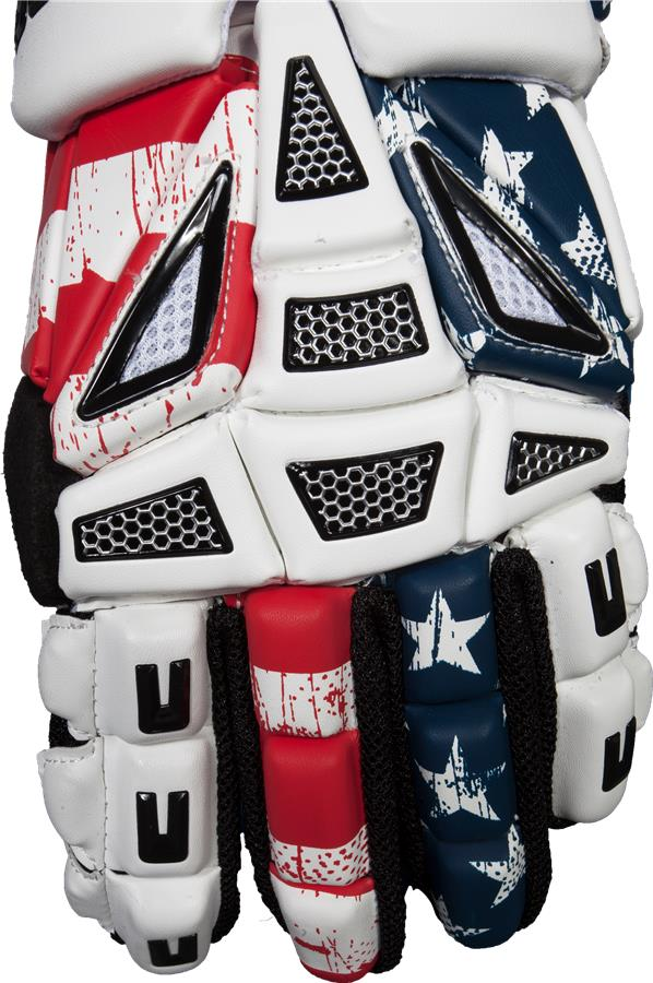 80153435c2 Under Armour Elevate Usa Lacrosse Gloves - Image Of Gloves
