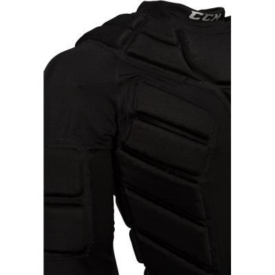Padding On Arm And Chest (CCM Goalie Padded Shirt)