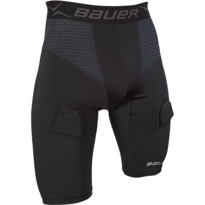 Premium Compression Jock Shorts (Bauer Premium Compression Jock Shorts)