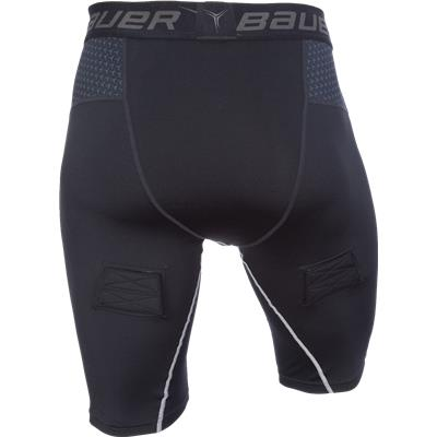 Back (Bauer Premium Compression Hockey Jock Shorts)