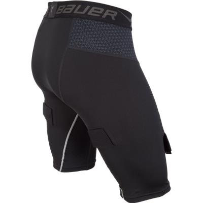 Side (Bauer Premium Compression Hockey Jock Shorts)