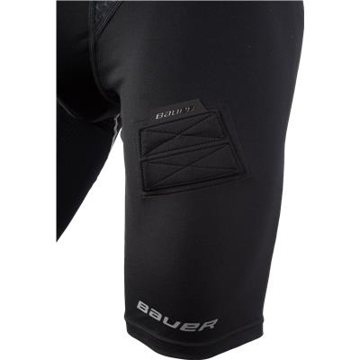 Leg Detail (Bauer Premium Compression Hockey Jock Shorts)