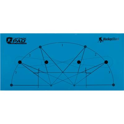 Attack Pad Hockey Training System (Attack Pad Hockey Training System)