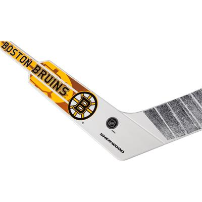 Bruins Goalie Stick (InGlasco Breakaway NHL Mini Stick Set)