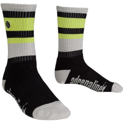 Black/Grey/Lime (Adrenaline The Directors Socks)