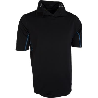Front With Collar Down (Bauer NG Core Neck Protect Shirt)