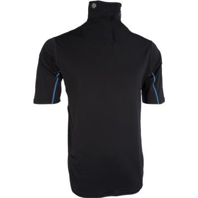 Front With Collar Up (Bauer NG Core Neck Protect Shirt)