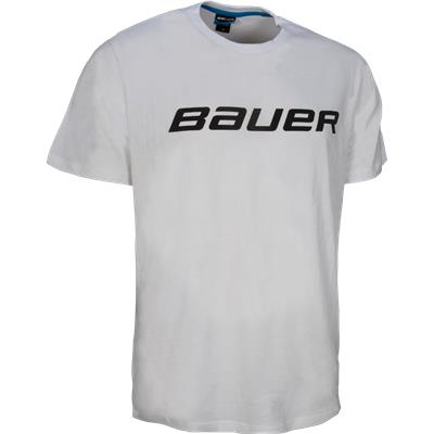 White (Bauer Core Tee Shirt - Mens)