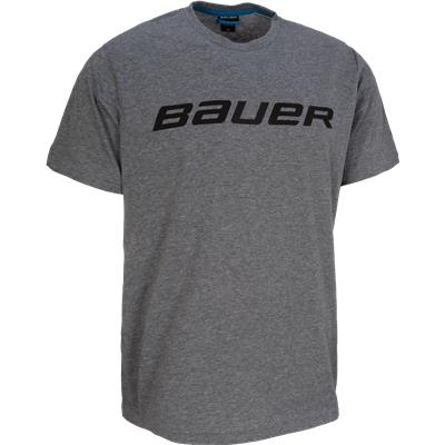Heather Grey (Bauer Core Tee Shirt - Mens)