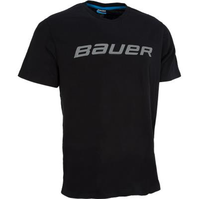 Black (Bauer Core Tee Shirt - Mens)