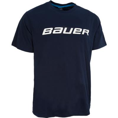 Navy (Bauer Core Tee Shirt - Mens)